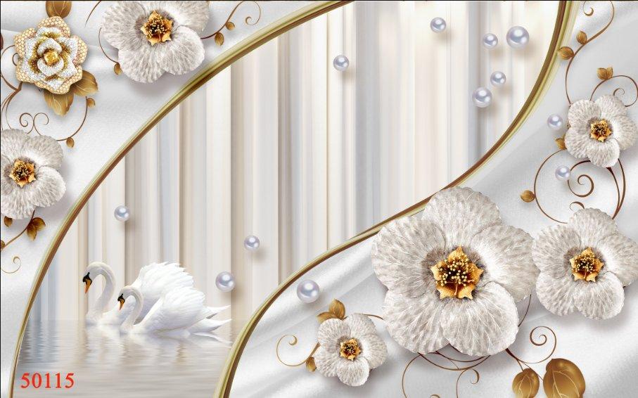 Tranh Hoa 3D - 50115