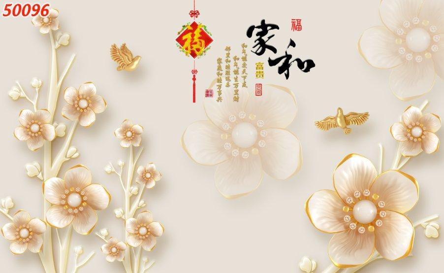 Tranh Hoa 3D - 50096