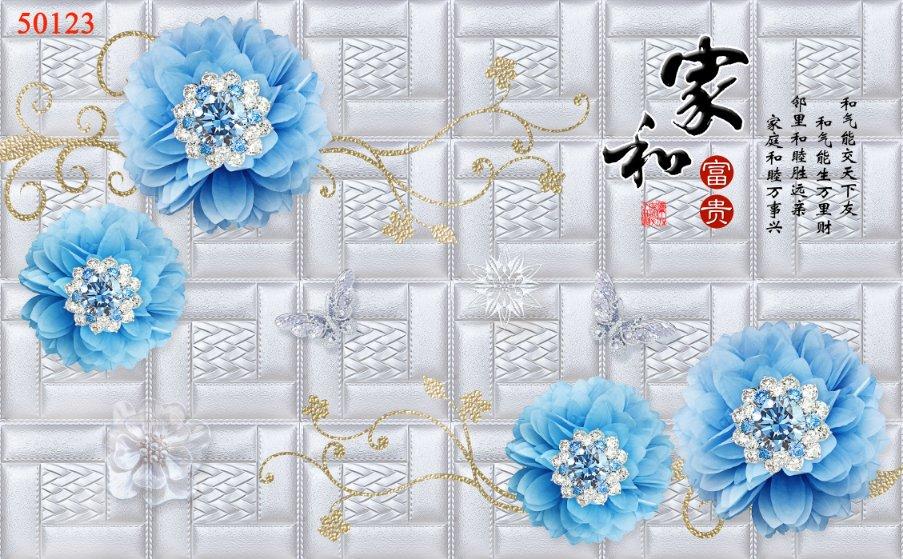 Tranh Hoa 3D - 50123