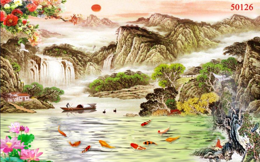 Tranh Thủy Mạc - 50126