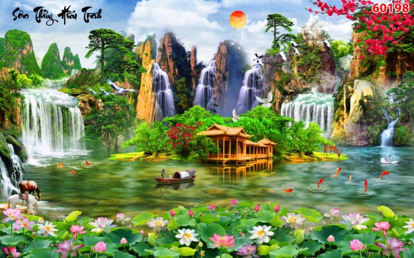 Tranh Sơn Thủy - 60198