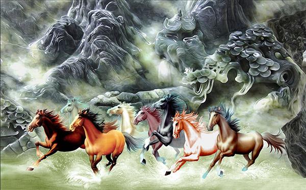 Tranh Mã Đáo Thành Công - 10534