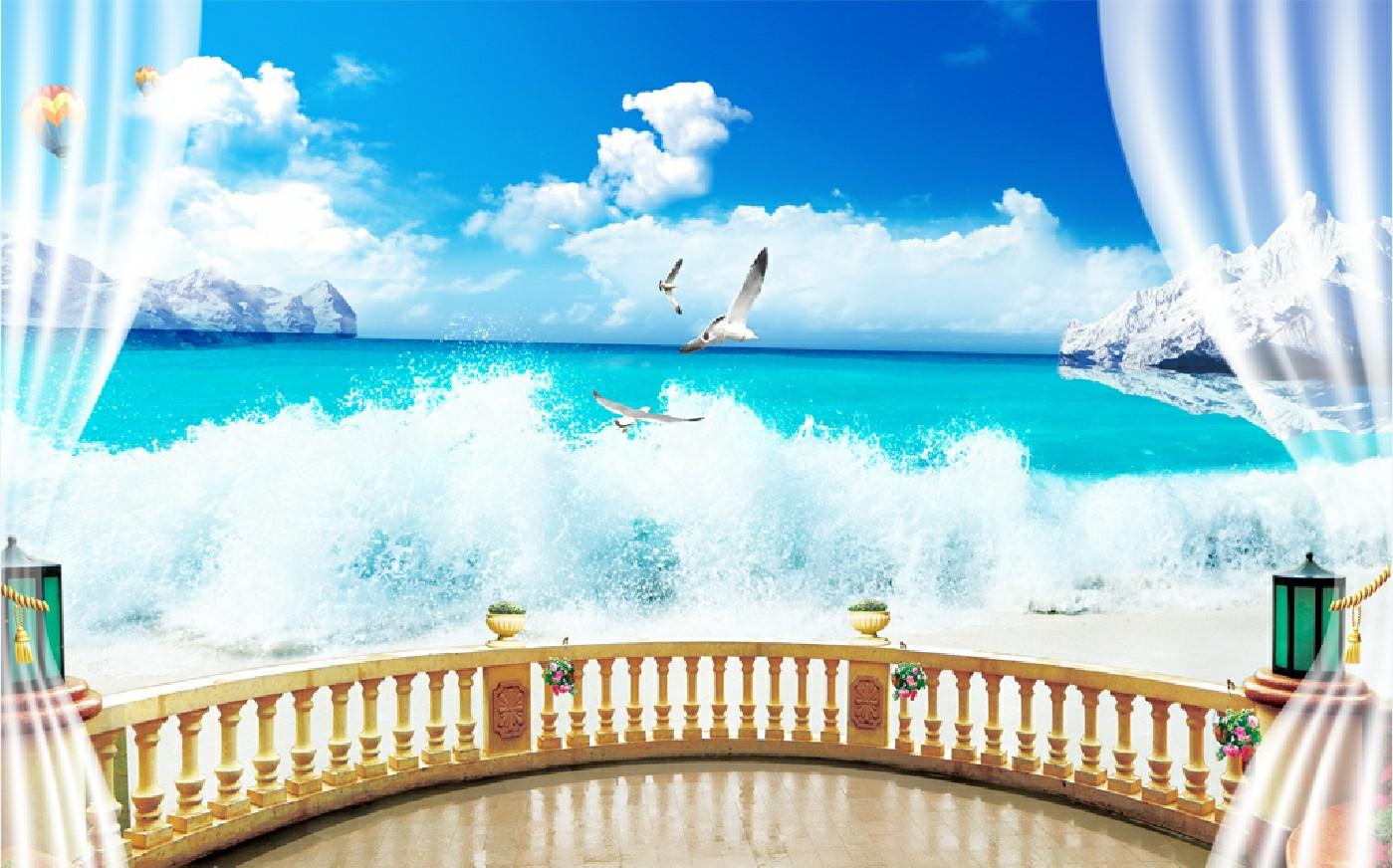 Tranh Phong Cảnh Biển - 11139