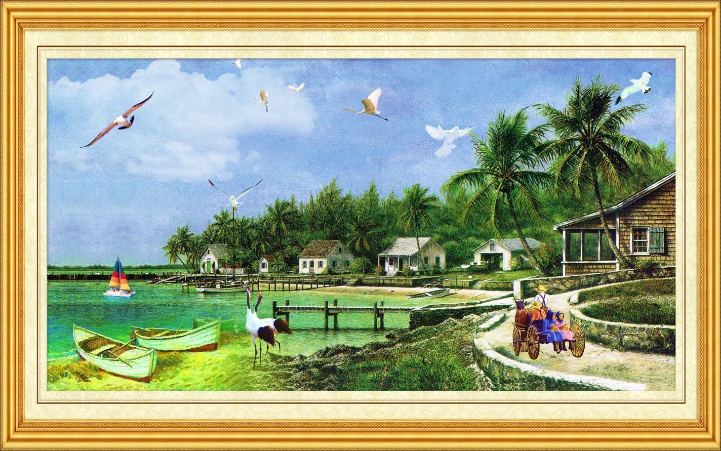 Tranh Phong Cảnh Biển - 11289