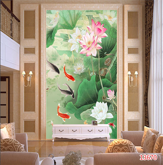 Tranh Hoa Sen - 13670