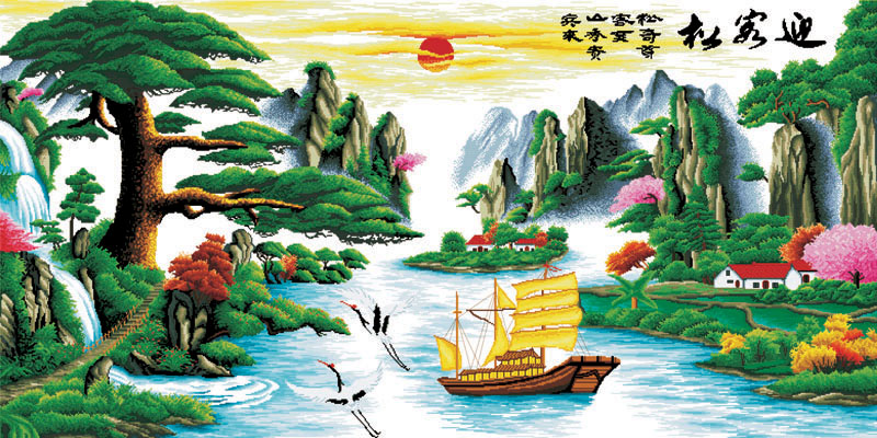 Tranh Thuận Buồm Xuôi Gió - 143