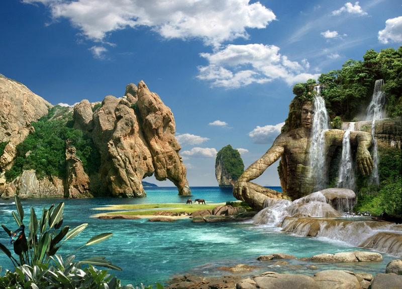 Tranh Phong Cảnh Biển - 201