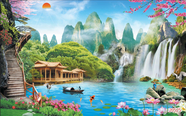 Tranh Sơn Thủy - 20526