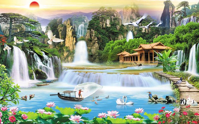 Tranh Sơn Thủy - 205858
