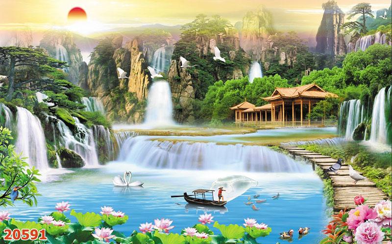Tranh Sơn Thủy - 20591