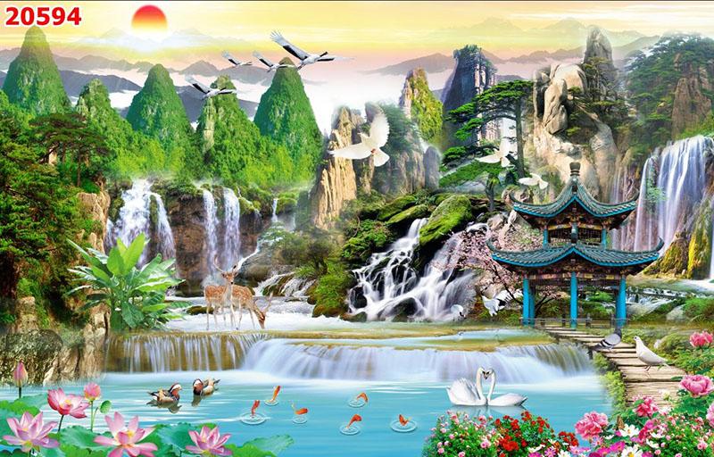 Tranh Sơn Thủy - 20594