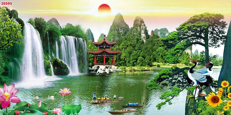 Tranh Sơn Thủy - 20595