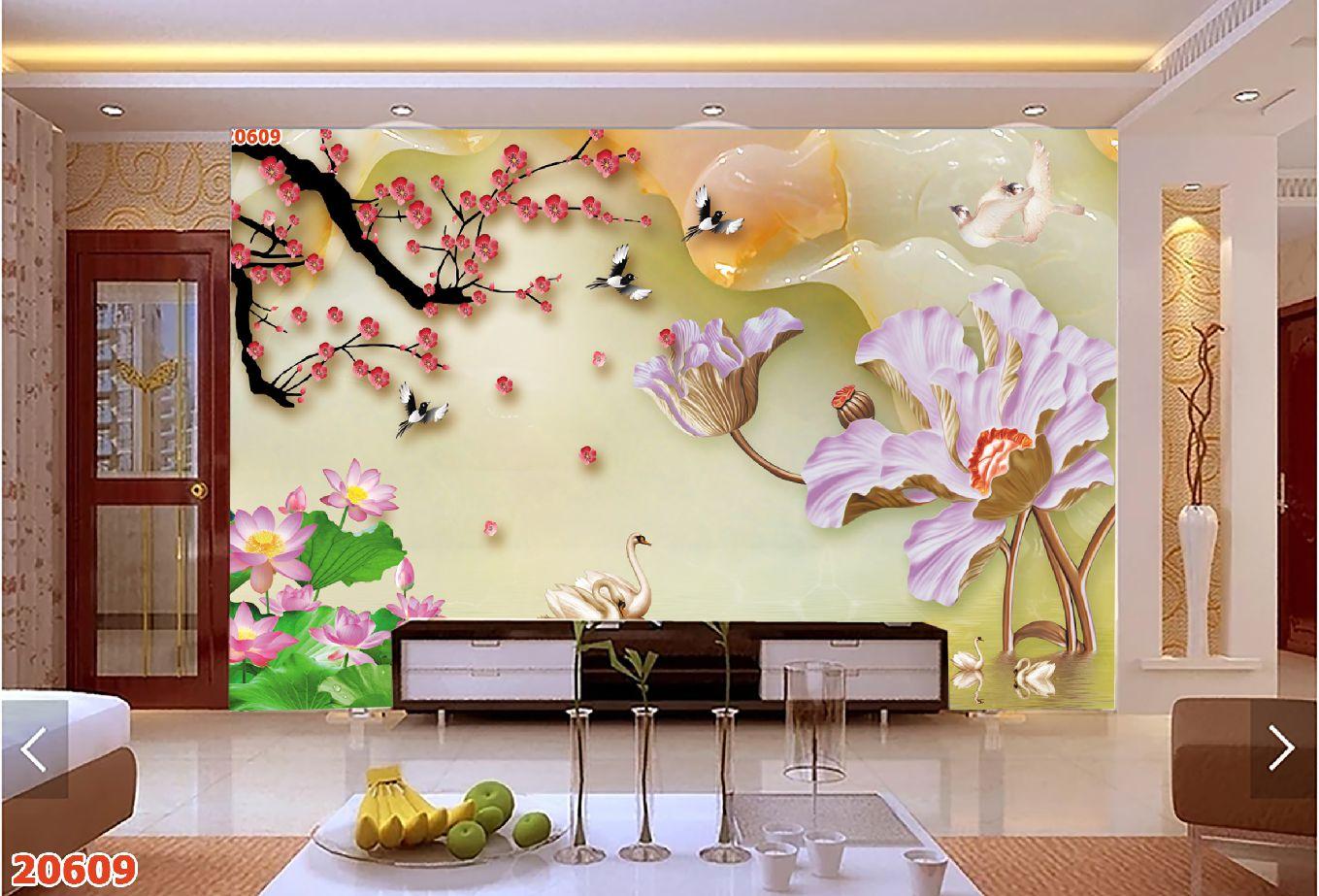 Tranh Hoa 3D - 20690