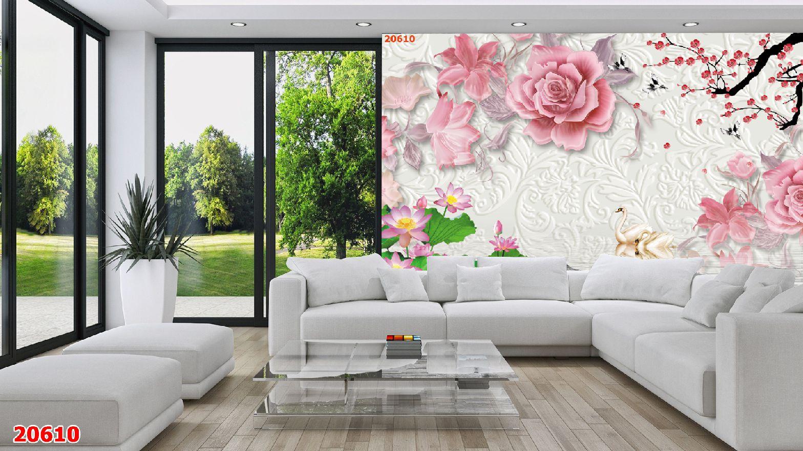 Tranh Hoa 3D - 20610