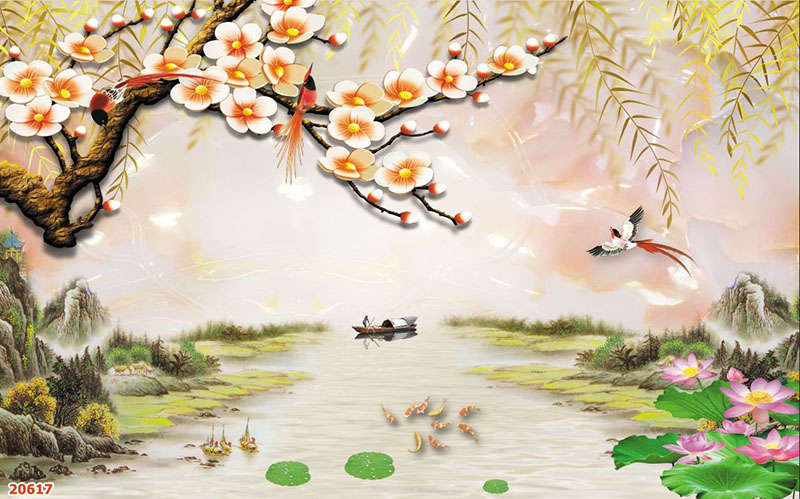 Tranh Sơn Thủy - 20617