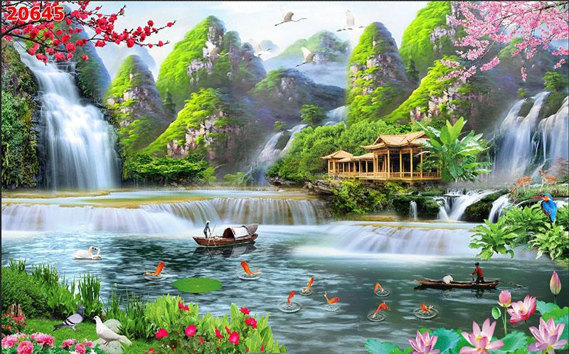 Tranh Sơn Thủy - 20645