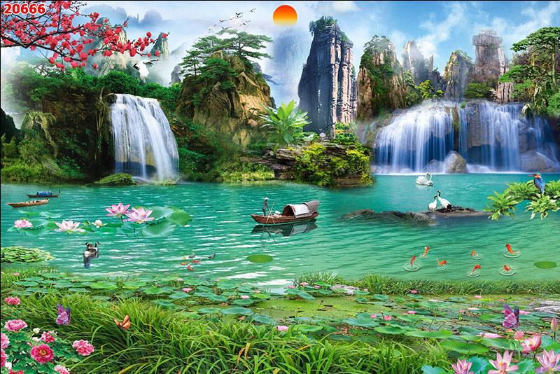 Tranh Sơn Thủy - 20666