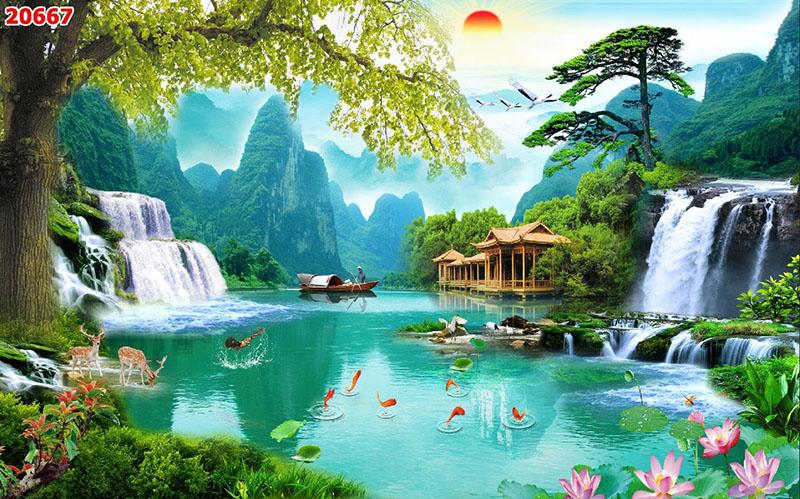 Tranh Sơn Thủy - 20667
