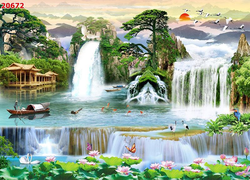 Tranh Sơn Thủy - 20672