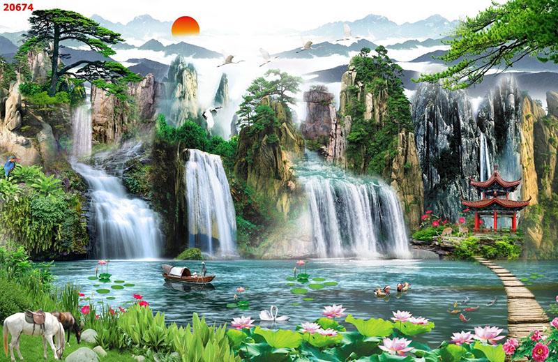 Tranh Sơn Thủy - 20674