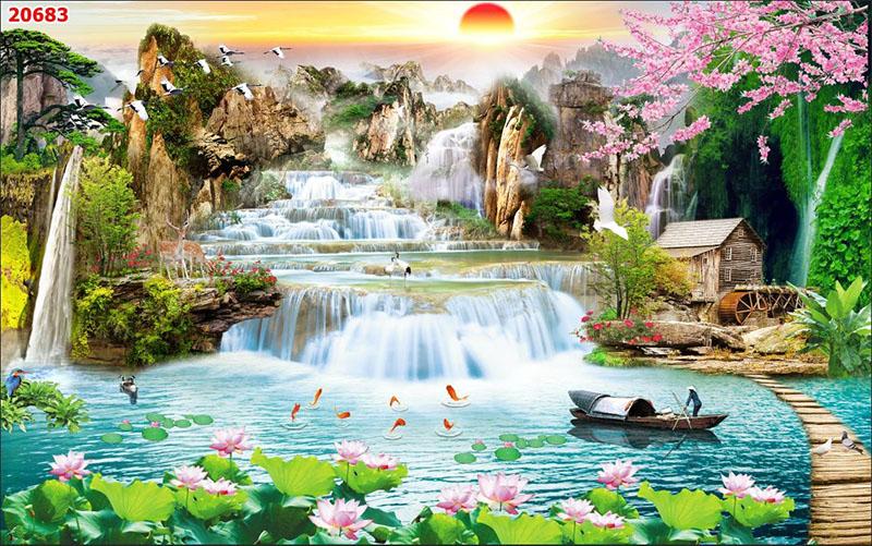 Tranh Sơn Thủy - 20683