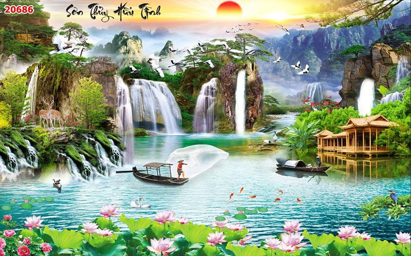 Tranh Sơn Thủy - 20686