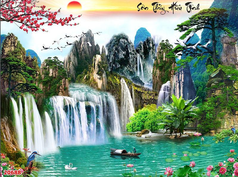 Tranh Sơn Thủy - 20688