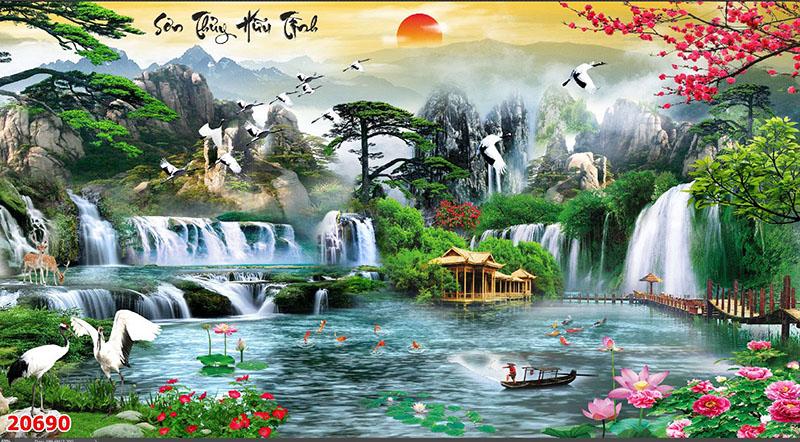 Tranh Sơn Thủy - 20690