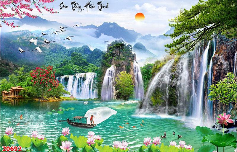 Tranh Sơn Thủy - 20692