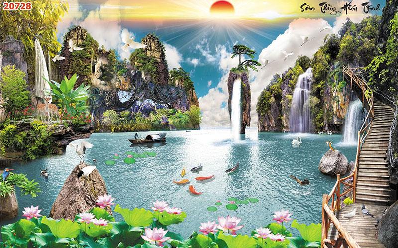 Tranh Sơn Thủy - 20728