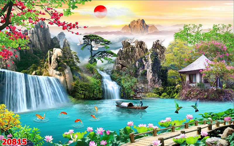 Tranh Sơn Thủy - 20815