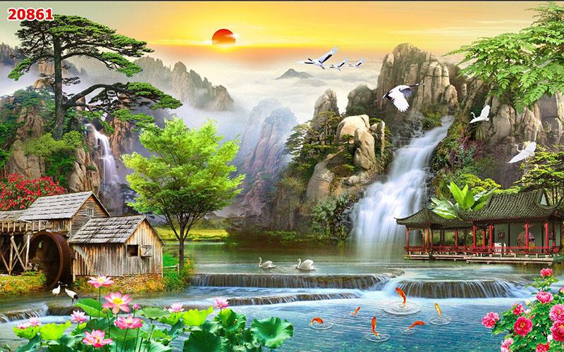 Tranh Sơn Thủy - 20861