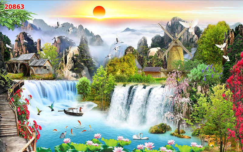 Tranh Sơn Thủy - 20863