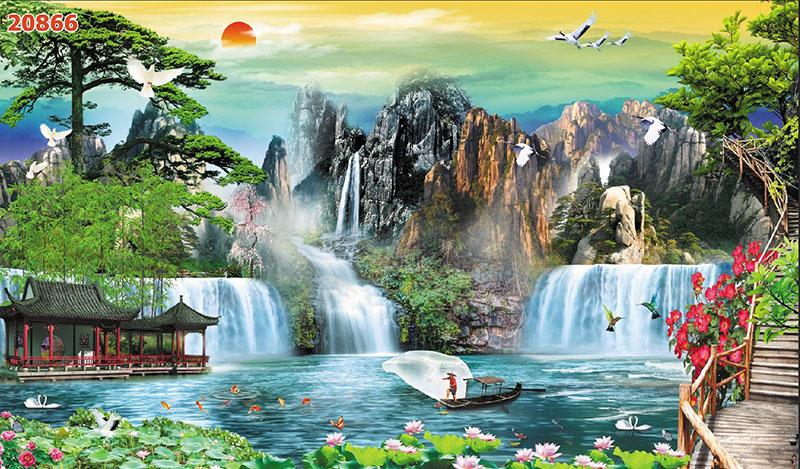 Tranh Sơn Thủy - 20866