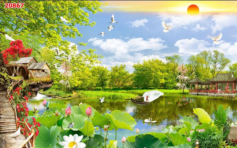 Tranh Sơn Thủy - 20867