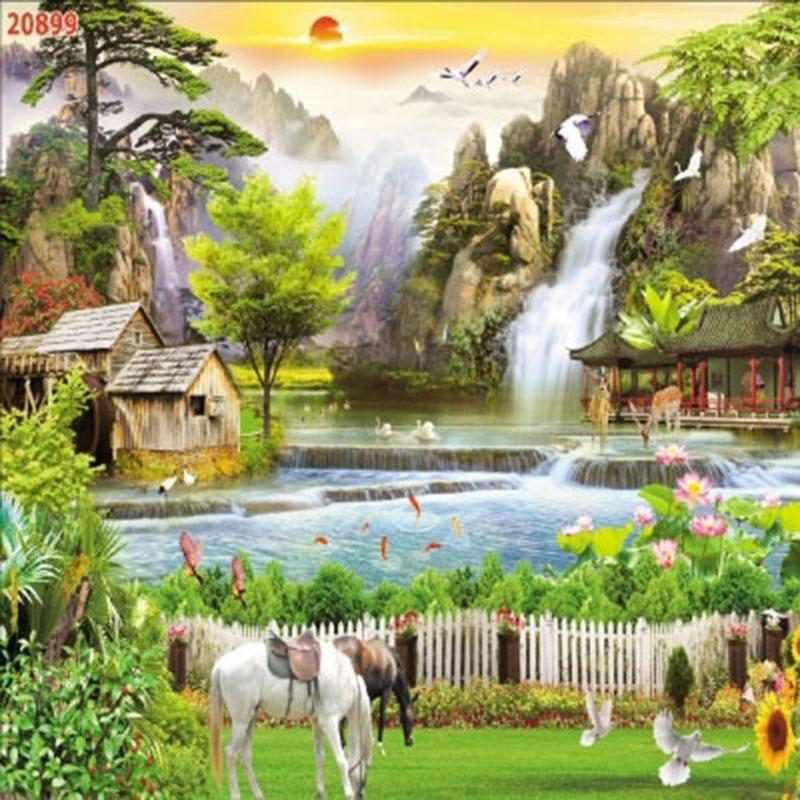 Tranh Bát Mã - 20899