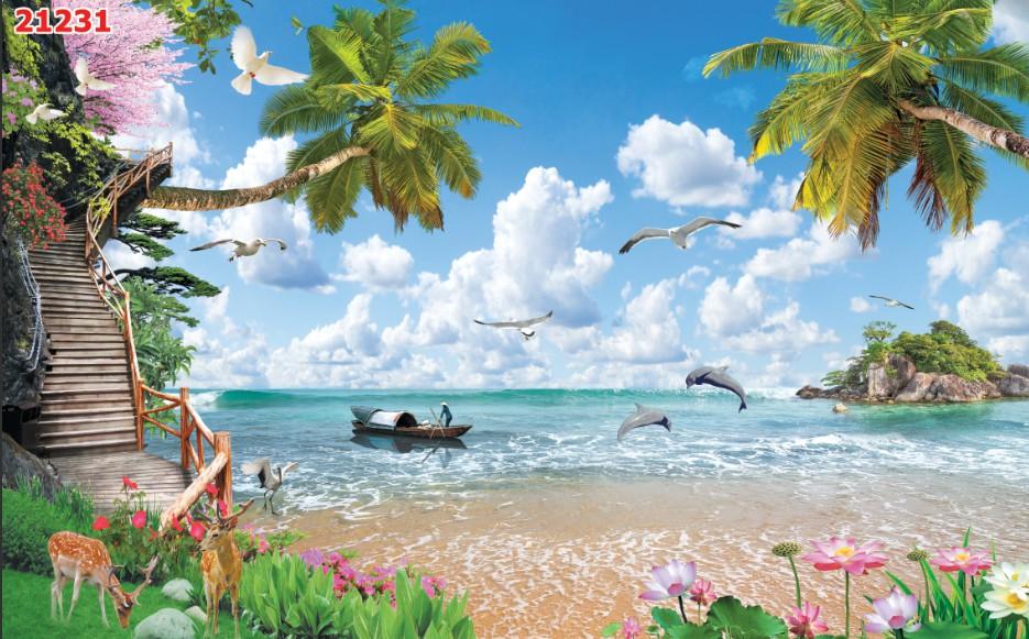 Tranh Phong Cảnh Biển - 21231