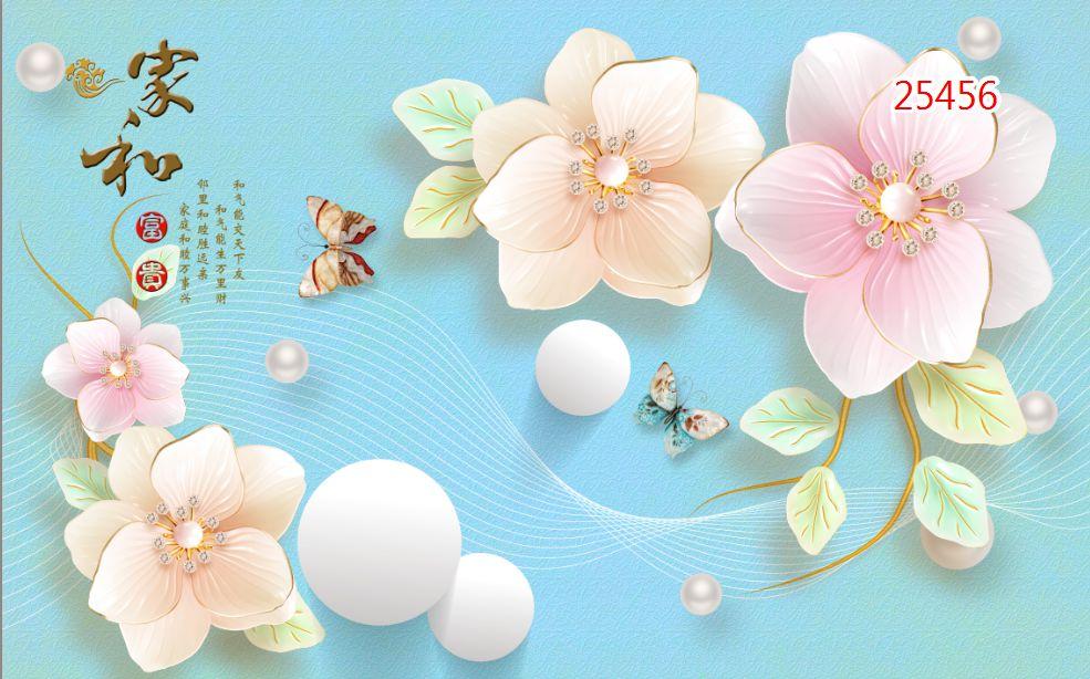 Tranh Hoa 3D - 25456
