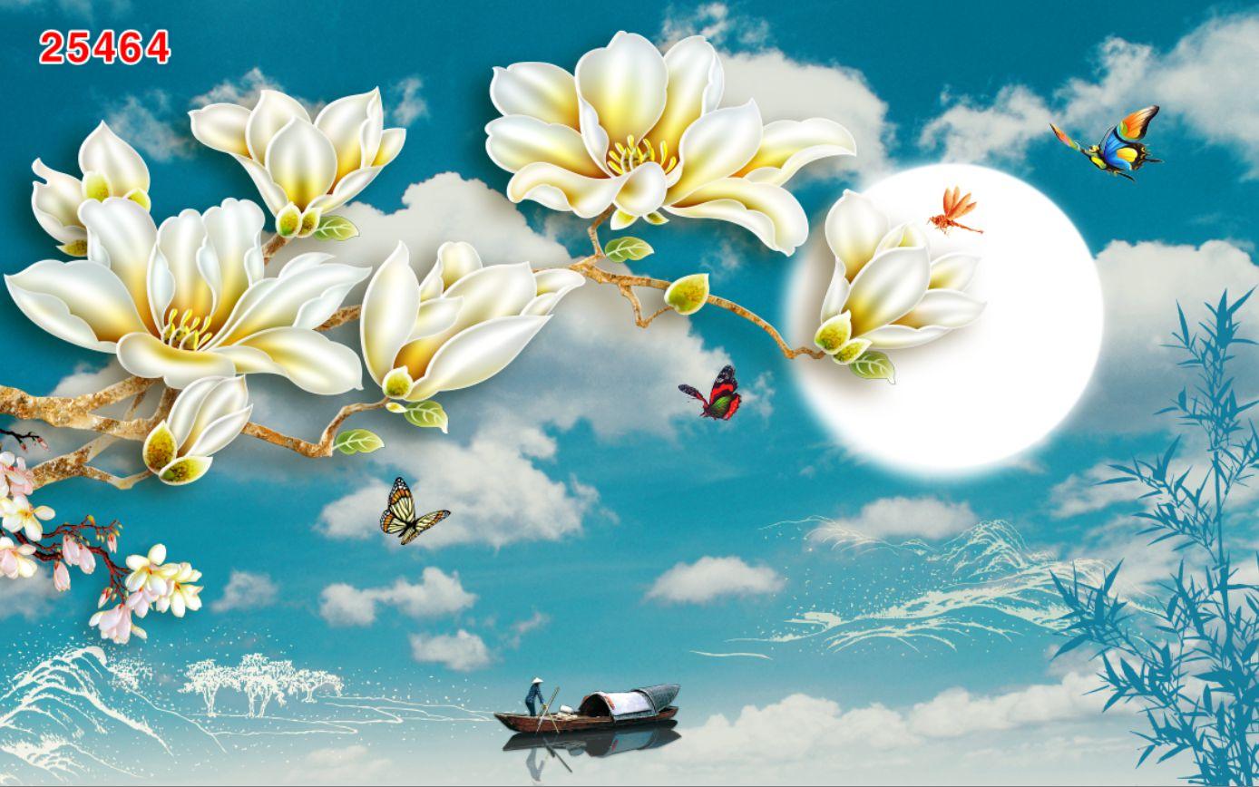Tranh Hoa 3D - 25464
