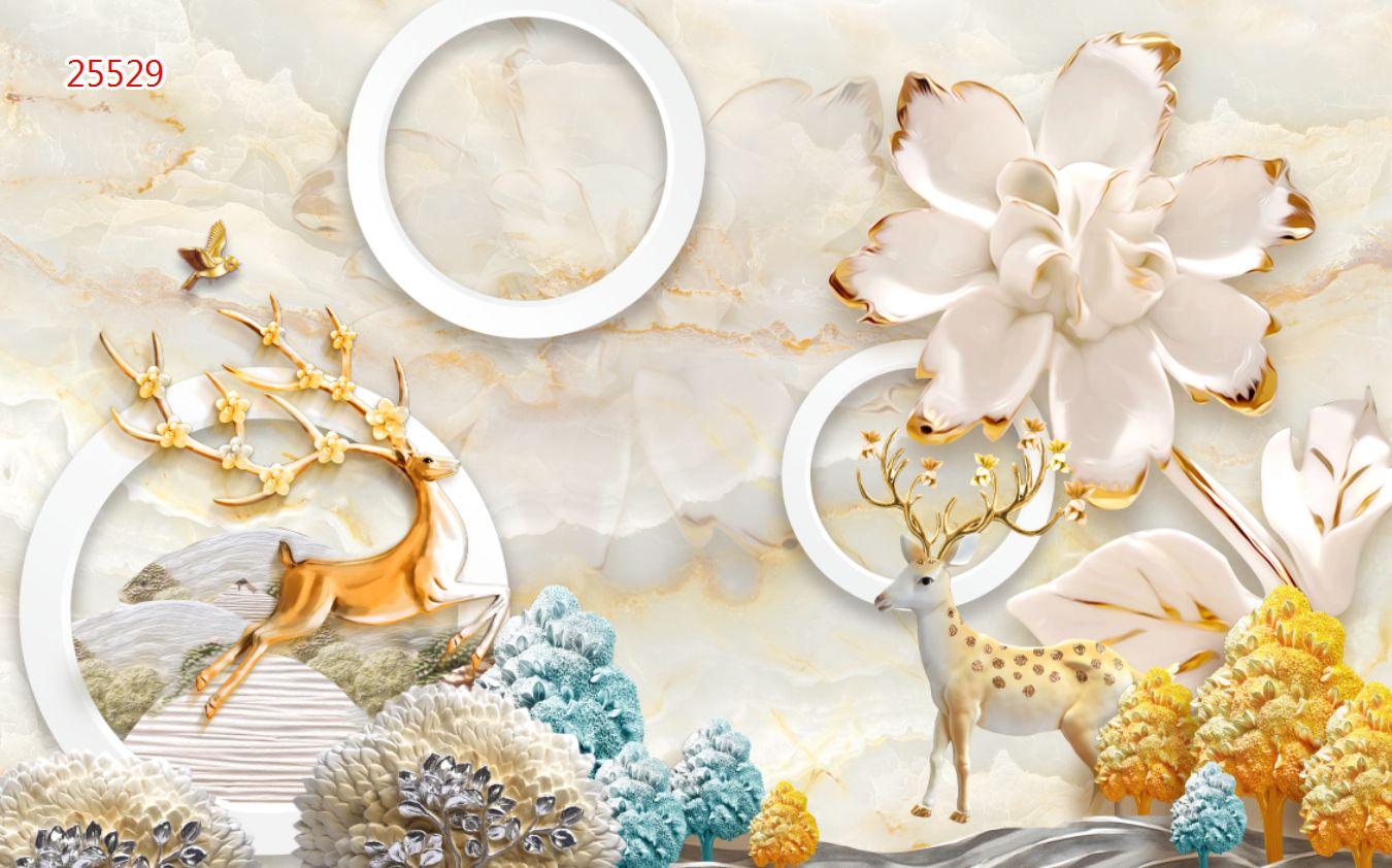 Tranh Hoa 3D - 25529