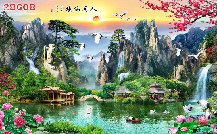 Tranh Sơn Thủy- 28608