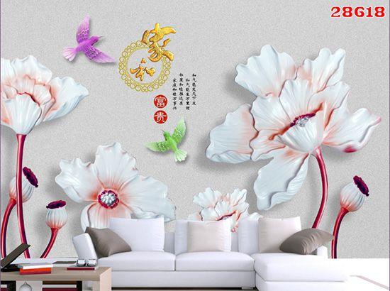 Tranh Hoa 3D - 28618