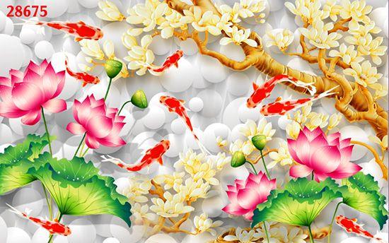 Tranh Hoa 3D - 28675