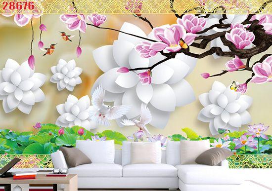 Tranh Hoa 3D - 28676