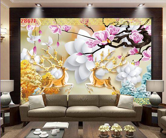 Tranh Hoa 3D - 28677