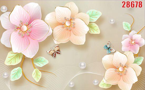 Tranh Hoa 3D - 28678
