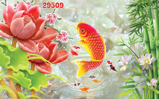 Tranh Hoa 3D - 29509