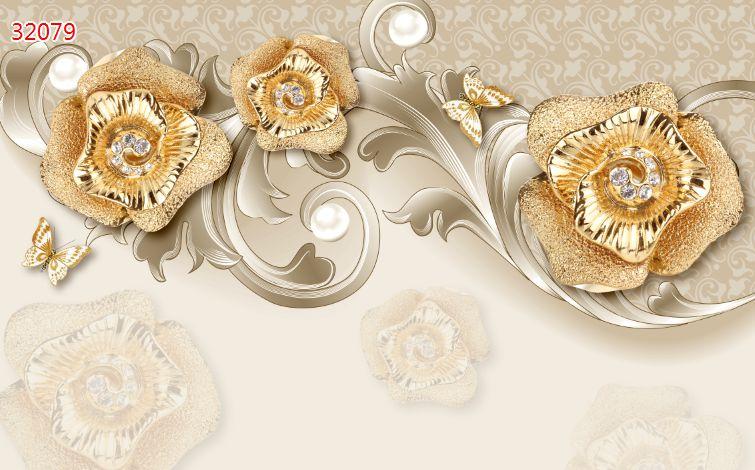 Tranh Hoa 3D - 32079