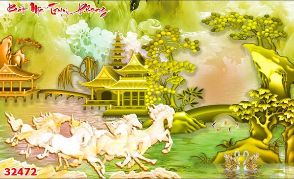 Tranh Bát Mã - 32472