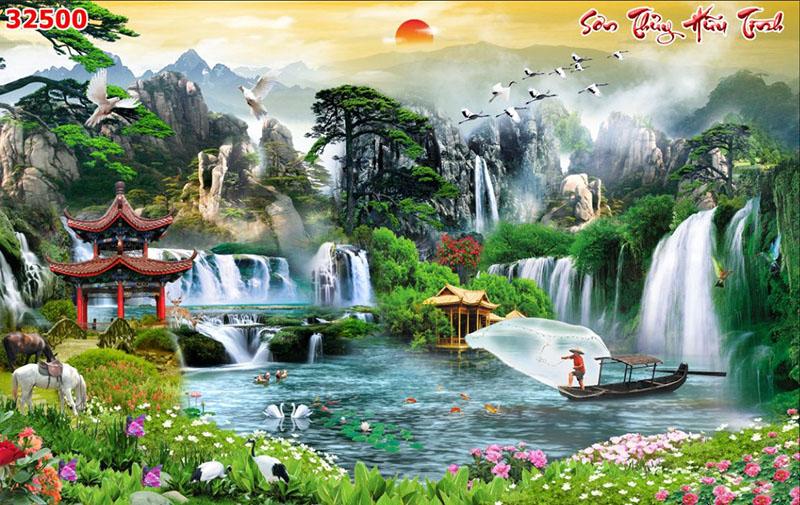 Tranh Sơn Thủy - 32500